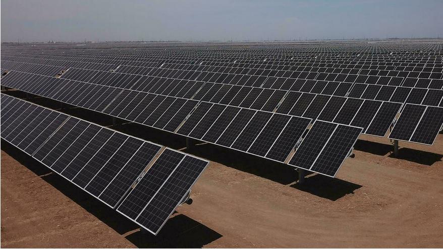 EEUU ESPERA QUE EL SOL PROPORCIONE EL 45% DE SU ENERGÍA PARA 2050
