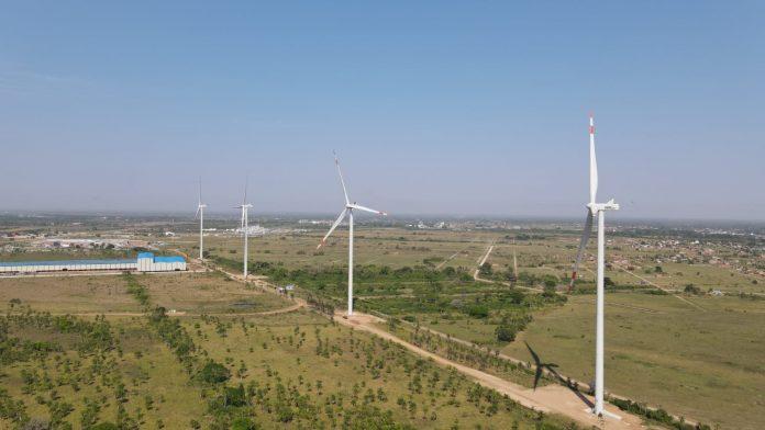 GOBIERNO INAUGURA PRIMER PARQUE EÓLICO EN SANTA CRUZ DE 14,4 MW