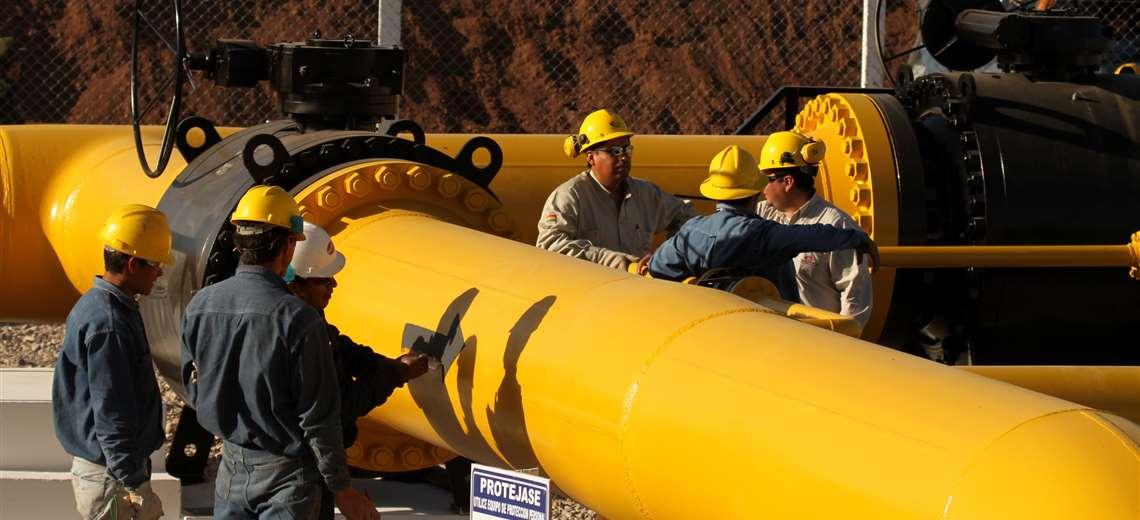 Ministro de Hidrocarburos revela que el promedio de producción de gas es de 47 MMm3/día